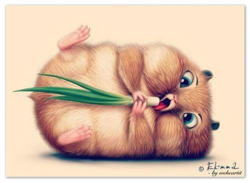 hamster-poireau