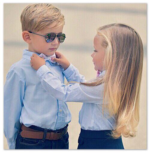 enfants modèle