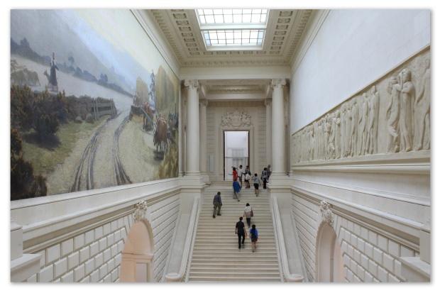 escaliers musée d'art nantes